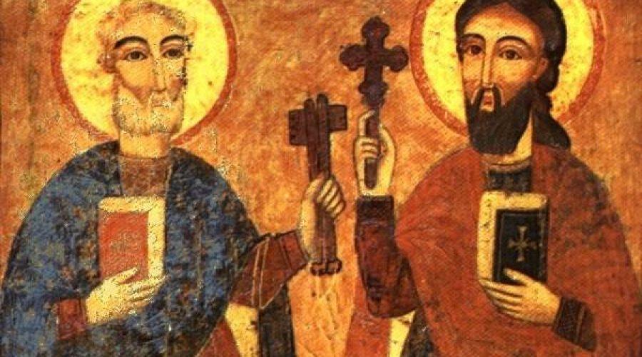 أعمال الرسل: مقارنة بين خدمة بُطرس وبولس
